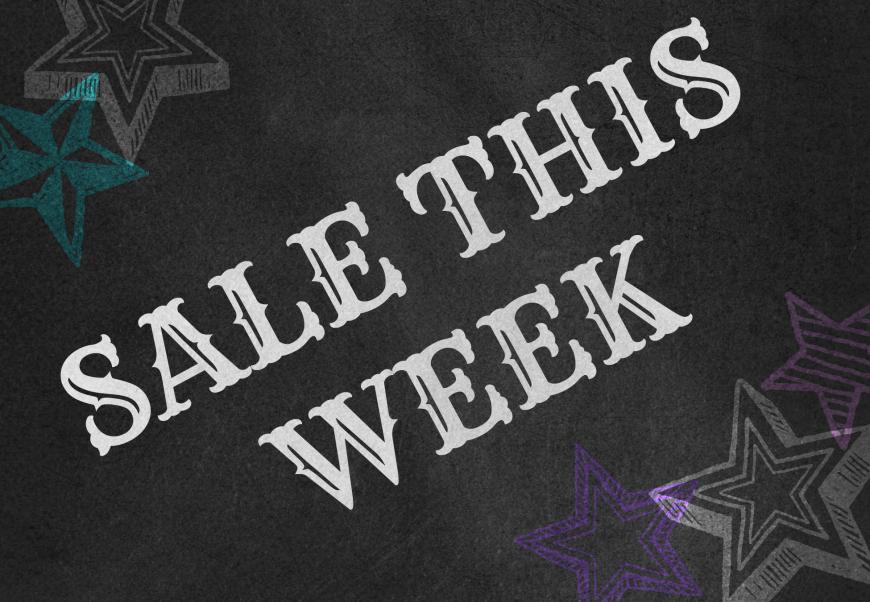 sale this week